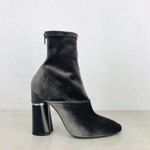 3.1 PHILLIP LIM Kyoto stretch velvet boots